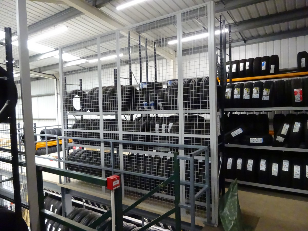 tyre racking Hampshire