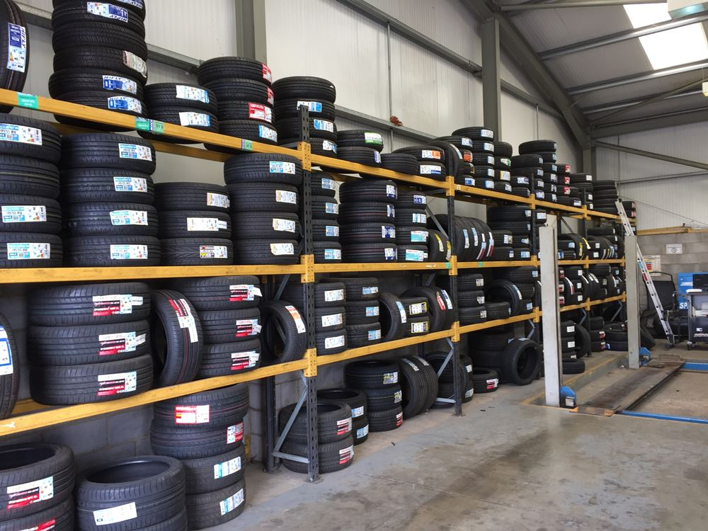 tyre racking systems Hampshire & UK