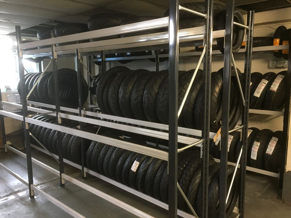 tyre racking system Hampshire